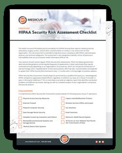 HIPAA Risk Assessment Checklist