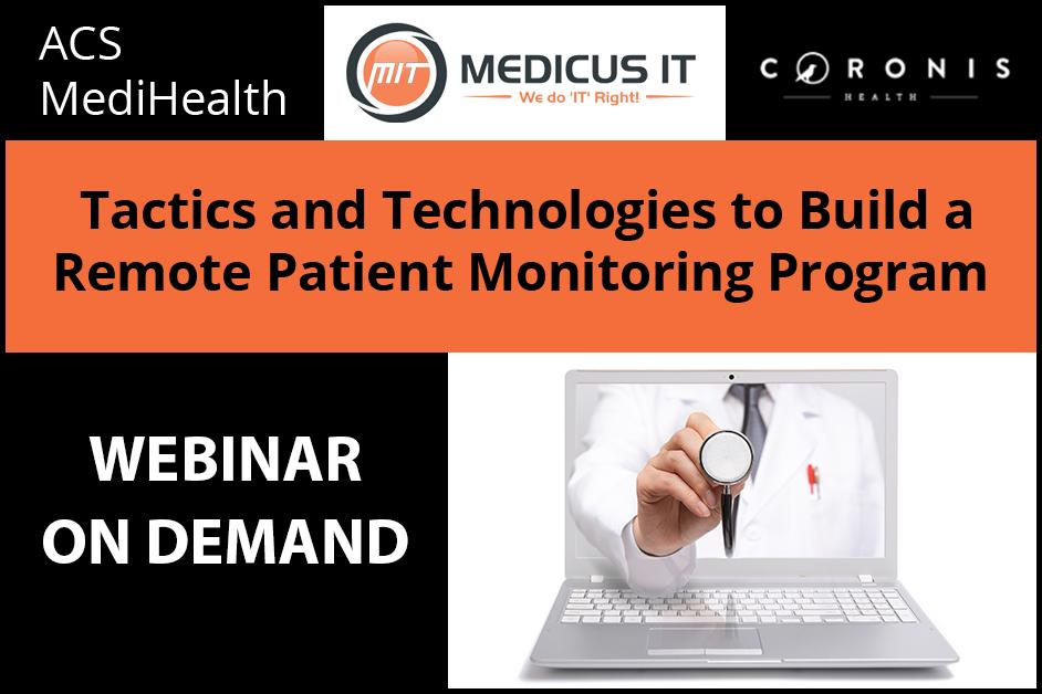 Remote Patient Monitoring Webinar